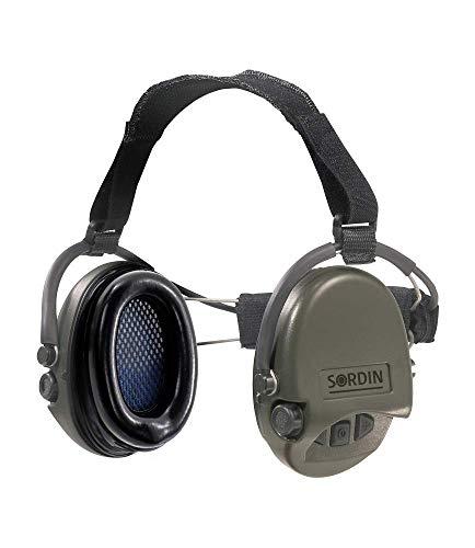 Sordin Supreme PRO Neckband Aktiver Gehörschutz 76302 - Elektronischer Gehörschützer SNR: 25dB Grün