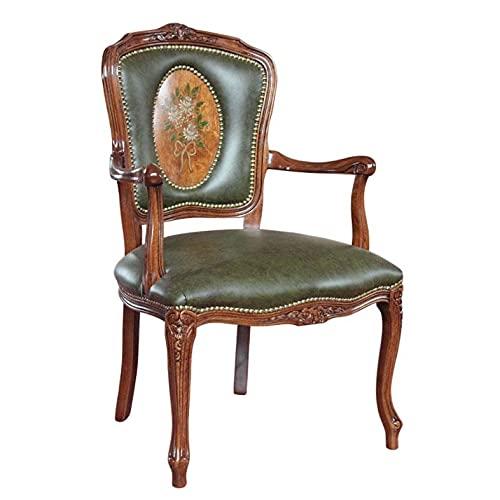 Arteferretto Fauteuil Style Louis XV décoré à la Main