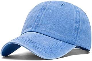 Wash cowboy hat baseball cap Sports Casual Hat (Color : Light blue, Size : 58cm)