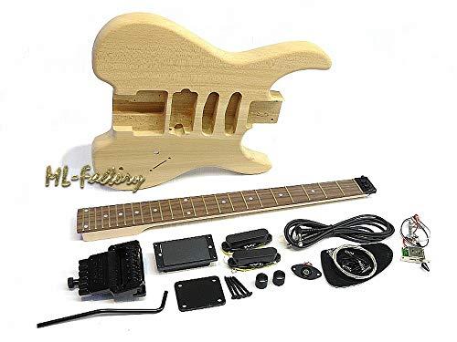 Guitarra Eléctrica/Guitar DIY Kit ML-Factory® Headless Ash