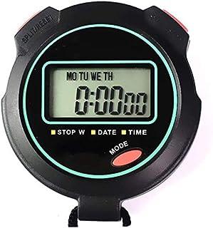 JINHAN ساعة توقيت الرياضة للماء مع تاريخ عرض كبير المنبه مثالي للمدرب الرياضة في الهواء الطلق Stopwatches