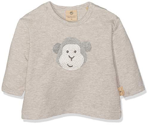 Bellybutton mother nature & me Baby-Jungen 1/1 Arm Sweatshirt, Beige (Walnuss Melange|Beige 8138), 86