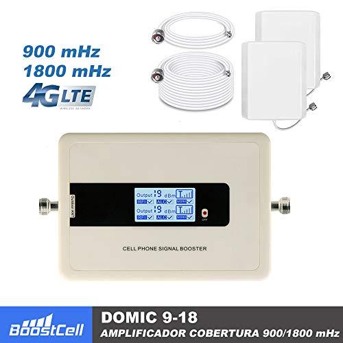BOOSTCELL Amplificador de Cobertura 900-1800 MHz