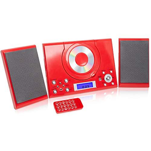 Grouptronics GTMC-101 CD Player Stereo Micro Compact HiFi with USB & MP3,...