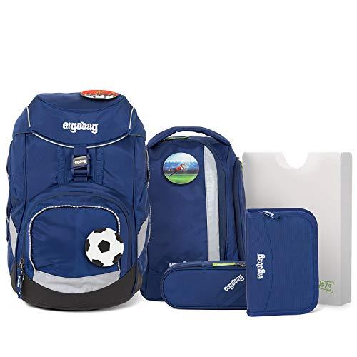Ergobag Pack BlaulichtBär Schulrucksack Set 6tlg. Verschiedene Kletties