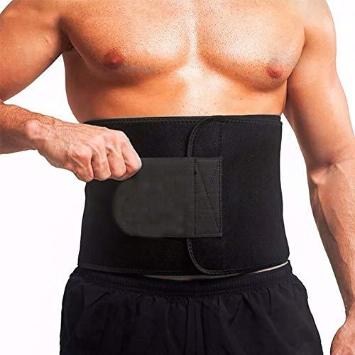GKKXUE Correa de Soporte de la Cintura, Soporte Lumbar Wrap, la Cintura Fitness Wrap...
