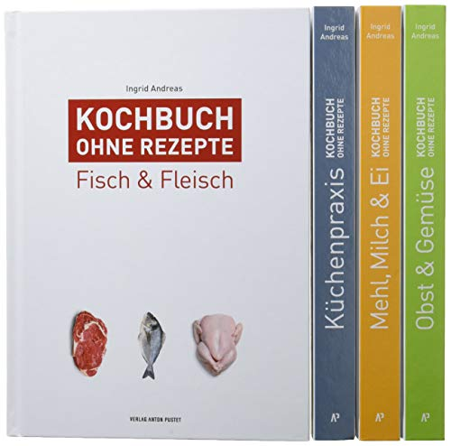 Kochbuch ohne Rezepte: Band 1 - 4 im Set