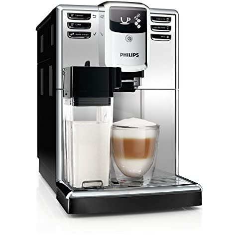 41MiAmTrZWL. SS500  - Philips 5000 Series EP5363/10 Freestanding Fully Automatic Espresso Machine 1.8L Silver – Coffee (Freestanding, Espresso Machine, 1.8 L, Coffee Beans, Mill Built-In, Silver)