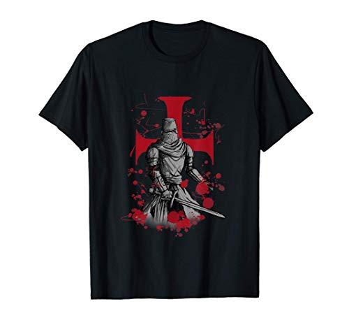 Chevalier Templier Cadeau Croix des Templiers T-Shirt