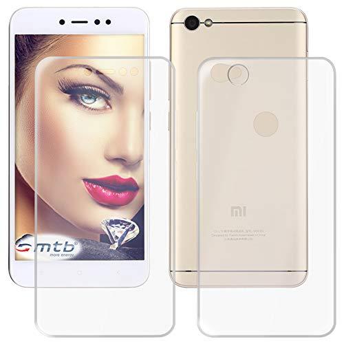 mtb More Energy® Funda TPU Doble (Frente y Trasera) para Xiaomi Redmi Note 5A (5.5'') - Protección Completa de 360 Grados - Gel TPU Silicona Carcasa Cáscara