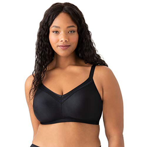 Wacoal Women's Perfect Primer Wire Free Bra Bra, Black, 42DD