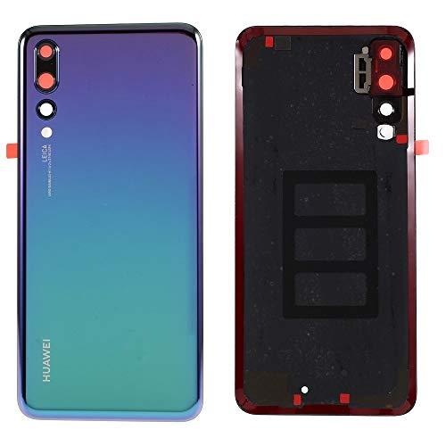 MOVILSTORE Tapa Bateria Back Cover + Lente Camara Trasera Compatible con Huawei P20 Pro Azul