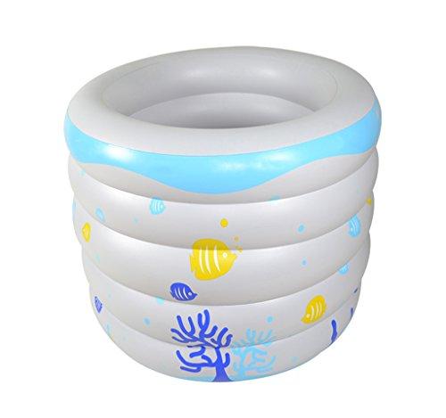 Baignoire gonflable, Bébé Piscine Insulation des ménages Baignoire en plastique pliable