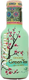 AriZona - Original Green Tea with Honey - 500ml (Pack of 6)