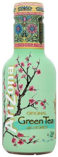 Arizona Original Green Tea With Honey 500 ml (Pack of 6)