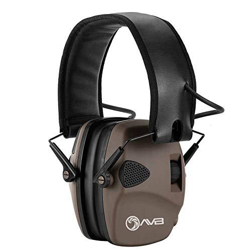 Abafador Eletrônico Protetor Perfil Baixo Fone AVB - EM026 (Areia)