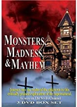 Monsters, Madness & Mayhem : The Sci-Fi Channel 3 Disc Box Set : The Devil , Witches , Creatures , Superstitions , The His...