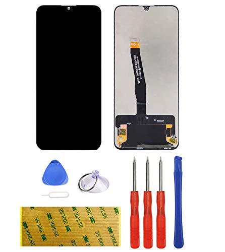 LTZGO Universell für Huawei P SMART 2019 Ersatz Display LCD Schwarz Touchscreen Digitizer Bildschirm Glas (ohne Rahmen) Ersatzteile Öffnungs Werkzeuge vollständigem Reparatur Set Tool Kit Kleber