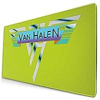 ヴァン・ヘイレン (1) 専用オフィス用マウスパッド、学習、ゲーム用マウスパッド、(75 X 40 X 0.3 Cm)耐久性、滑り止め、環境保護、精密ロック、厚手の設計、操作感がより快適です。