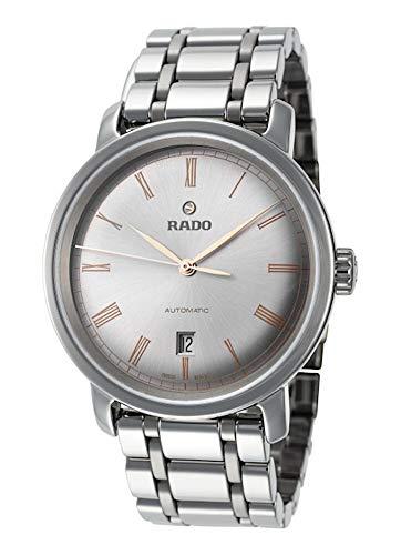 Rado Herren-Armbanduhr Diamaster Datum Keramik Analog Automatik R14806102