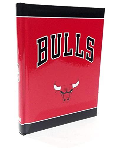 DIARIO SCUOLA NBA Chicago Bulls 2021/22 + omaggio portachiave gioco cubo e penna colorata