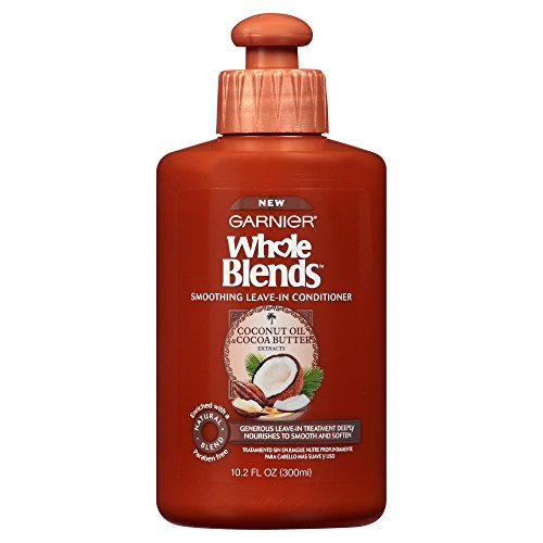 Garnier Whole Blends Leave-In Conditioner for Hair, With Coconut Oil & Cocoa Butter Extracts....