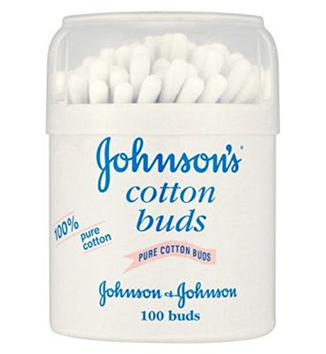 Les Bourgeons Bébé De Coton De Johnson - 1 X 100 Tambour - Lot De 2