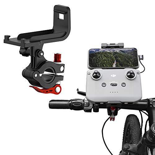 iEago RC Soporte de mando a distancia mini 2 mandos a distancia de metal Soporte de bicicleta para Mavic Air 2 / Mini 2 / Mavic Air 2S Drone Accesorios