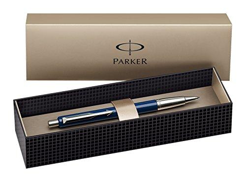 Parker Blue Ball Pen - Bolígrafo de bola retráctil, azul