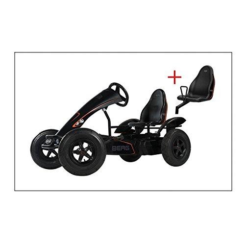 Berg Toys 07.90.00.00Set Go Kart Black Edition BFR + Soziussitz