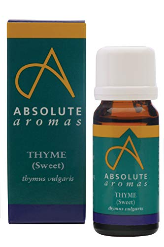 Absolute Aromas Aceite Esencial de Tomillo Dulce (ct Linalool) 10ml - Puro, natural, sin diluir y vegano