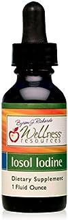 Iosol Iodine (1 Fluid Ounce) - High Potency Liquid Iodine for Thyroid Health