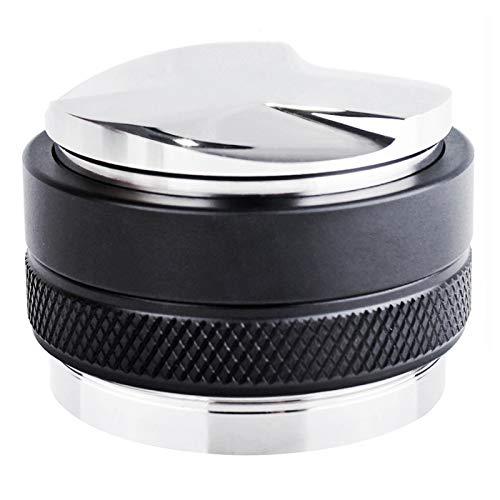 53mm Coffee Distributor & Tamper,Dual Head Coffee Levelers Tool Fits 54mm Breville Portafilter Espresso Distribution Tool Professional Espresso Hand Tampers – Adjustable Depth