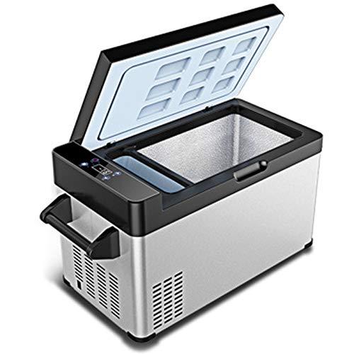 GAOXIAOMEI Refrigerador Portátil Expandible, Refrigerador con Congelador De 12 Voltios, Gabinete De Acero Completo, Uso En El Hogar Y En El Automóvil, 50 ℉ A -8 12, CC 12/24 V, CA 220 V (54 Cuartos)
