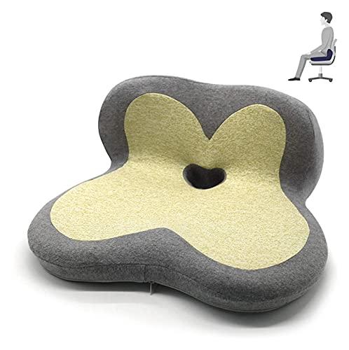 cuscino per sedia da ufficio Sollievo antidolorifico cuscino del coccige, bellissimi glutei cuscino cuscino antiscivolo cuscino for sciatica, schiena, coccige e sollievo dal dolore osseo della coda cu