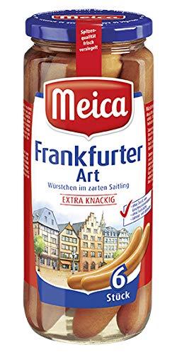 Meica Würstchen Frankfurter Art, 6Stück, 250g