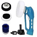 Car Polishing, Mini Cordless Car Polisher Handheld Electric Car Cleaner Machine Waterproof Tool