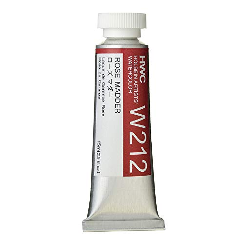 Holbein Artist's Watercolor 15ml Tube (Rose Madder) W212
