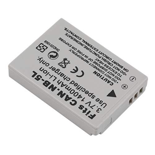 New-green NUOVA batteria agli ioni di litio di ricambio 3.7 V 1400mAh per fotocamera CANON NB-5L