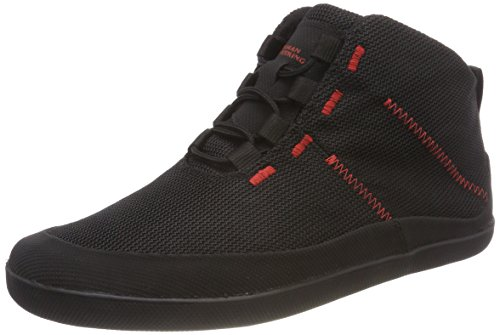 Sole Runner Unisex-Erwachsene T1 Allrounder 4 Sneaker, Schwarz (Black/red 05), 47 EU