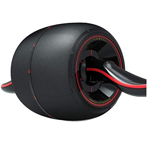 Rueda abdominal, hacer minal ejercitador, Ab Roller rueda del ejercicio, músculo Abs Núcleo de rueda físico abdominal ejercitador abdominal de doble máquina de ejercicios de musculación y fitness