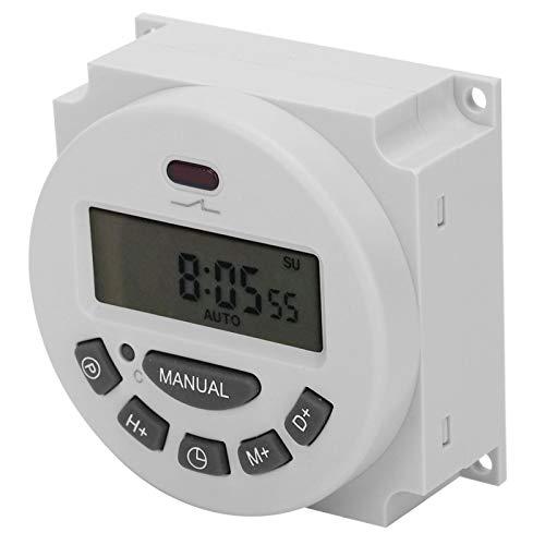 Temporizador de microordenador pequeño de alta precisión Temporizador electrónico L701-12V para control de tiempo