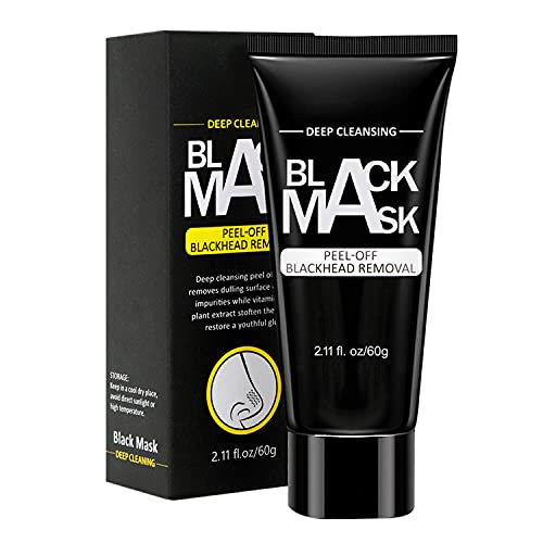 Blackhead Removing Peel Off Mask, Charcoal Face Mask for Deep Pore Cleansing and Skin Conditioning - BodyBasics