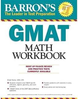 Barron's GMAT Math Workbook by Ender Markal - Paperback