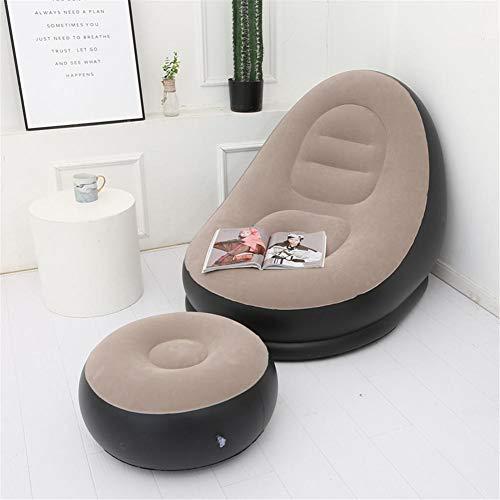 asterisknewly Aufblasbare Luftmatratze Lazy Sofa Deck Chair Bequeme Beinauflage Einzelner Sitzsack Für Zu Hause Und Im Freien