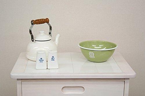 ICHIBAsoup(スープ)『タイルトップワゴン(W-2244WH)』