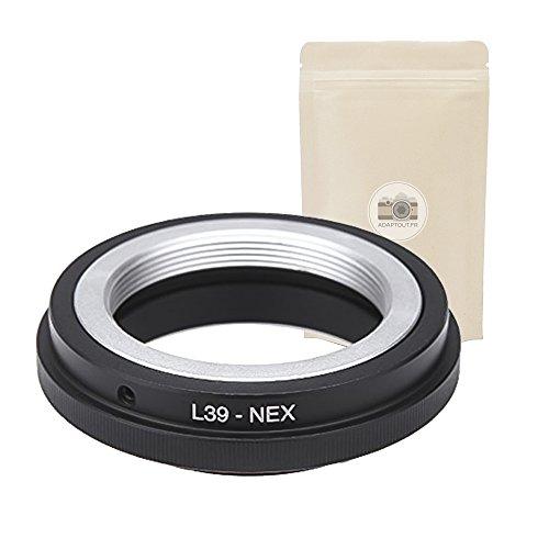 L39 NEX ? Anello Adattatore per Obiettivo L39 ( M39 LTM ) compatibilea Fotocamera Sony NEX E - Adaptout Marchio francese