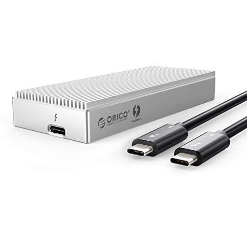 ORICO Carcasa Thunderbolt 3 para Disco Duro ssd M.2 NVMe 2TB, 40Gbps...