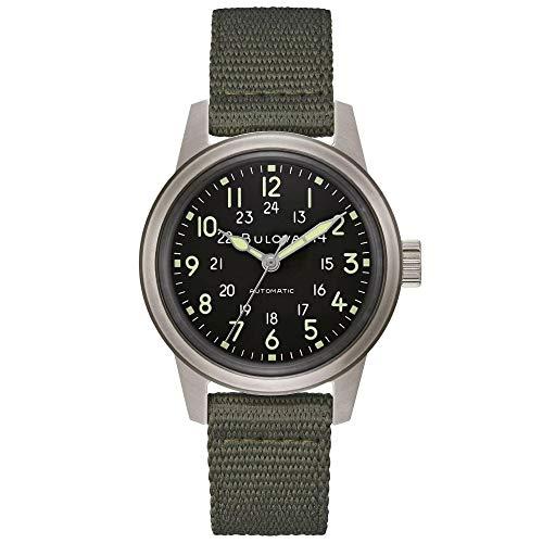 Men's Bulova Military VWI Special Edition HACK Automatic...