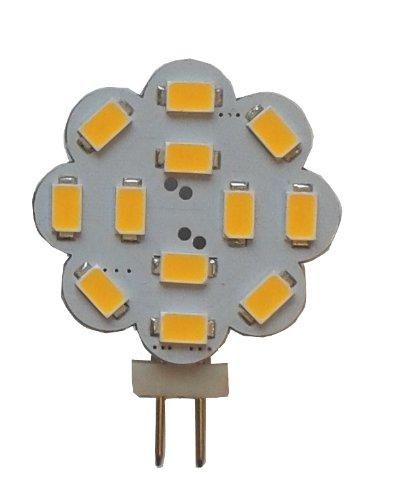 G4 LED 360Lumen 3W 12V warmweiss 2900K 12x 5630er LEDs der neuesten Generation (8V - 30V)
